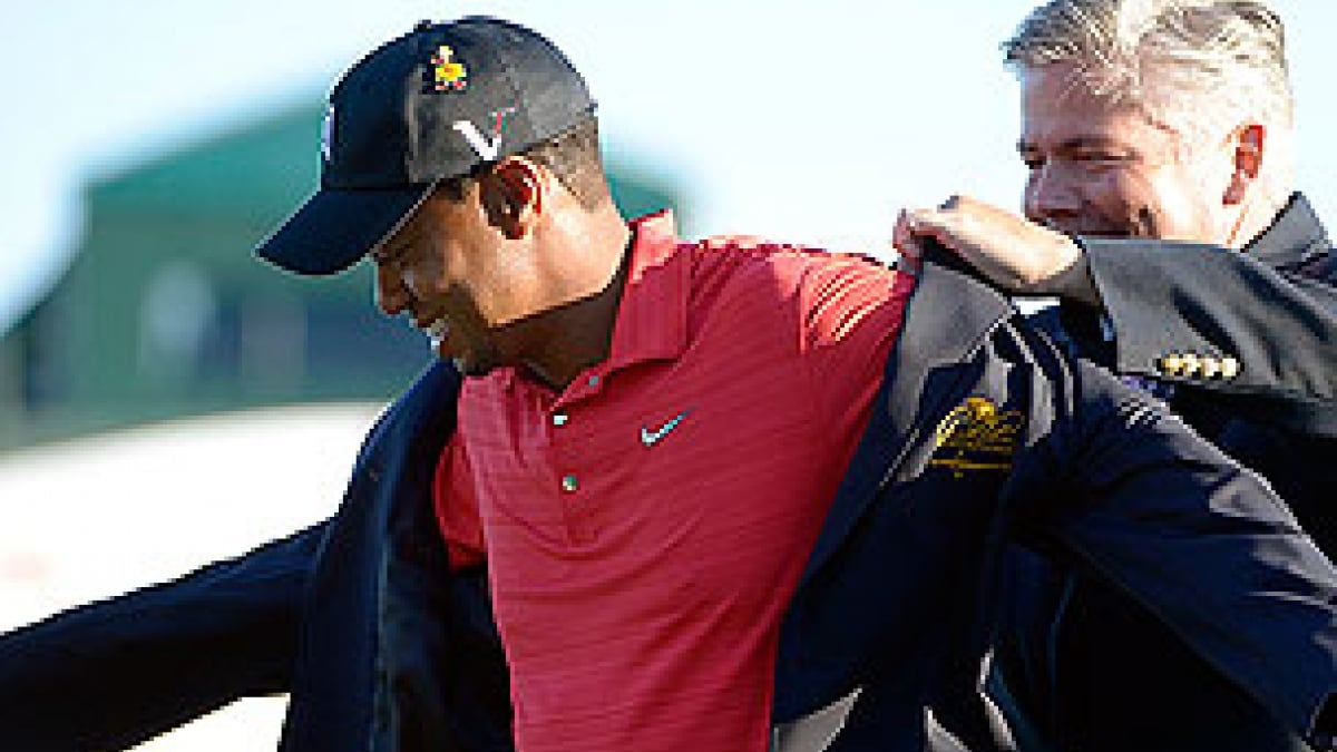 Tiger Woods at the 2012 Arnold Palmer Invitational