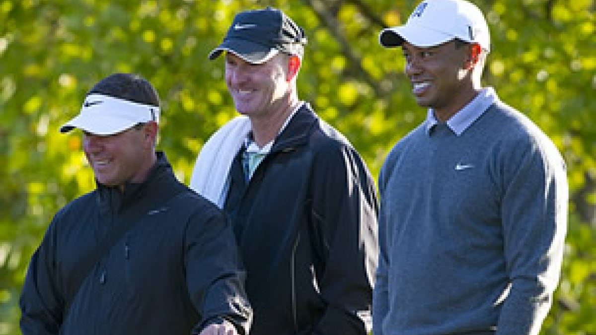 Tiger Woods, Sean Foley and Joe LaCava
