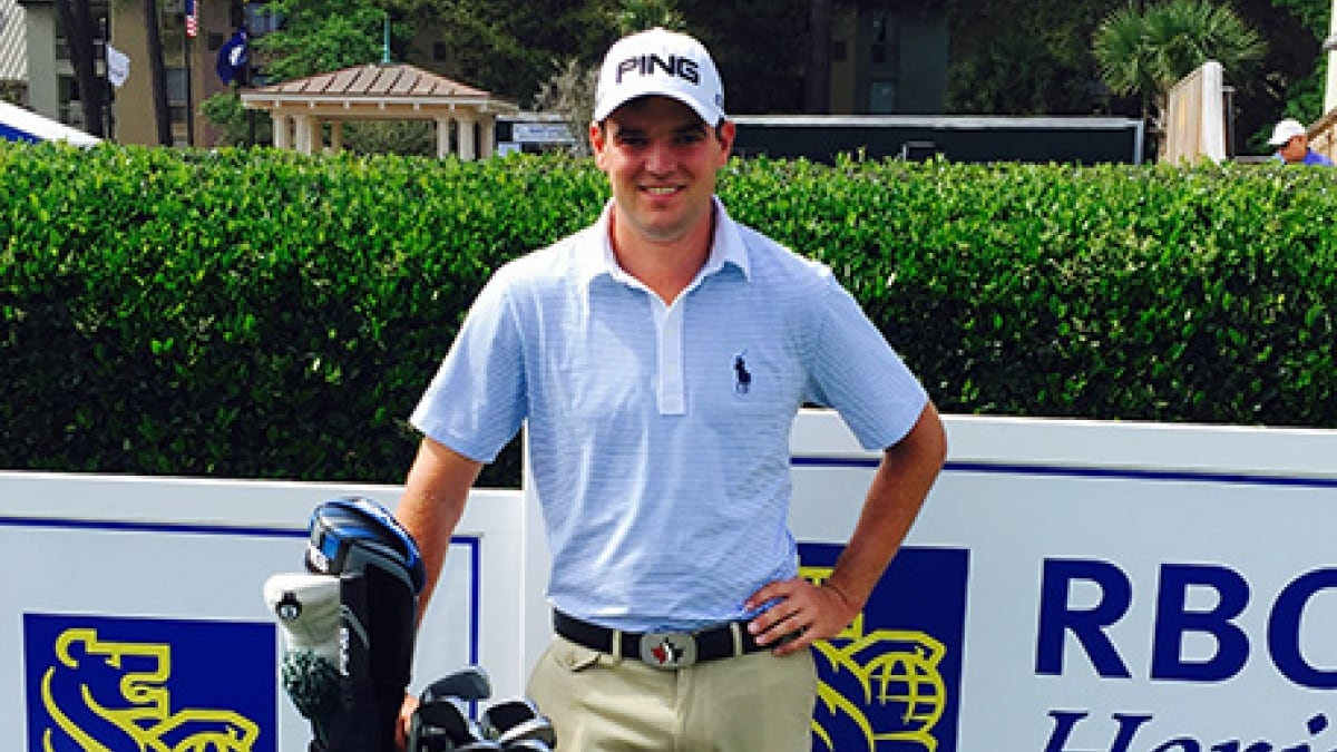 Corey Conners signs with PING