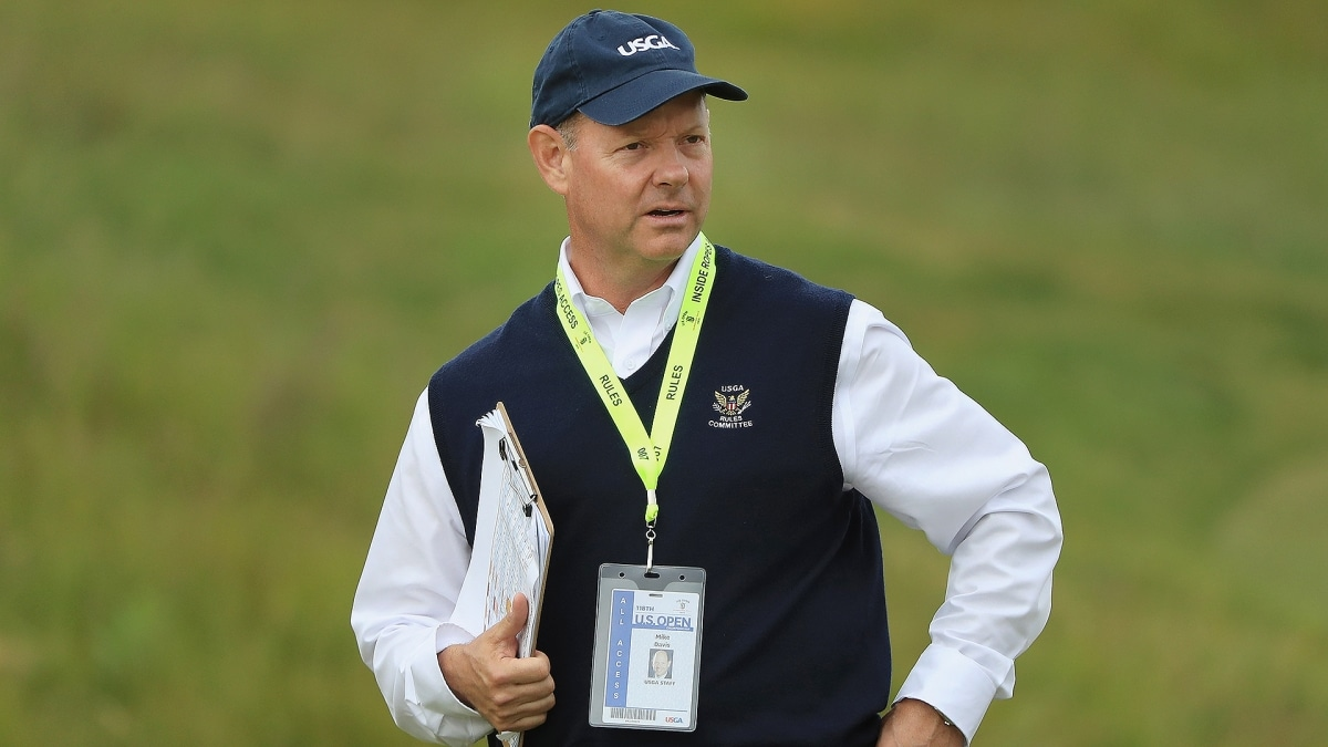 60ea411e532 USGA s Mike Davis turns focus from course set-up to CEO duties ...