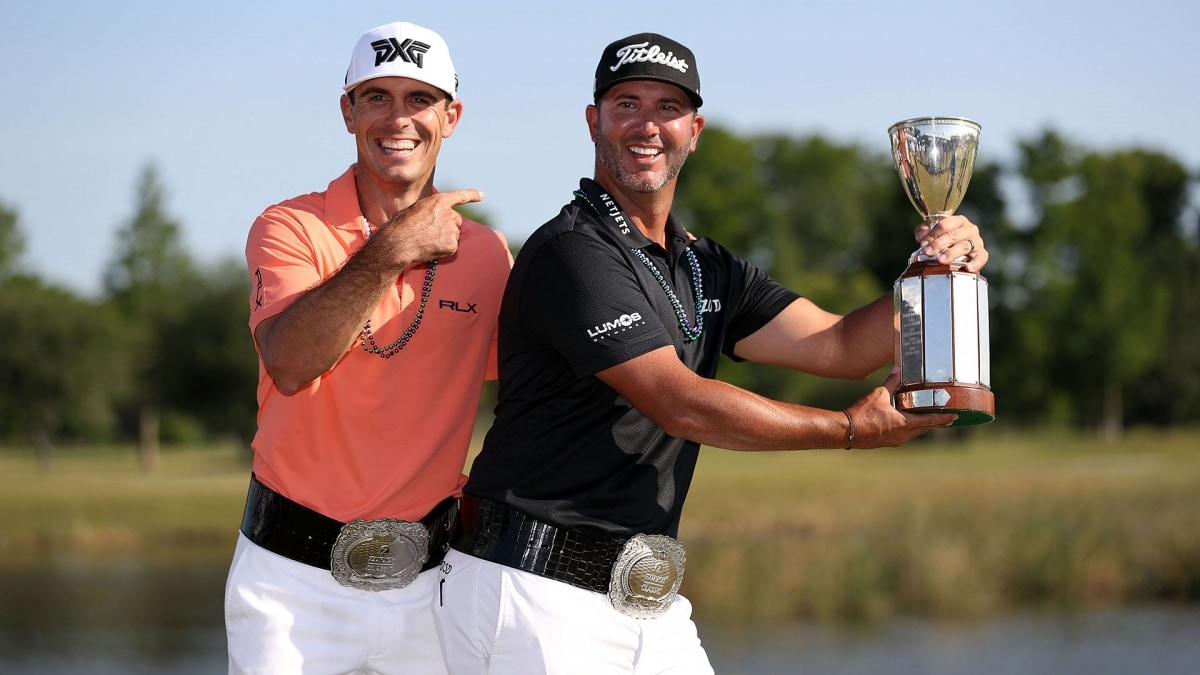 Defending Zurich champs Billy Horschel and Scott Piercy