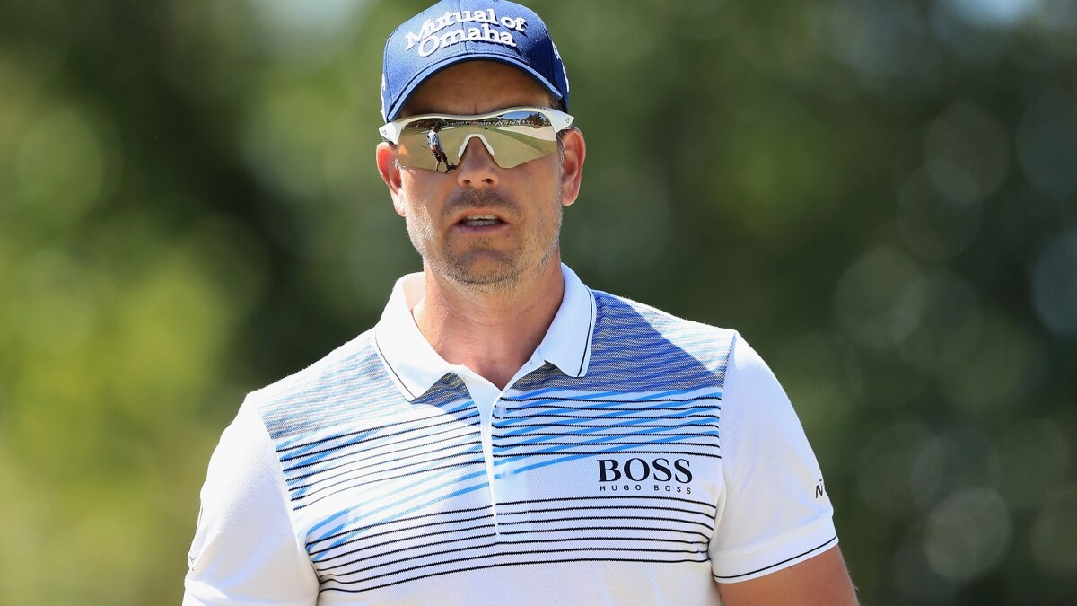 henrik stenson leads rory mcilroy  justin rose  rickie