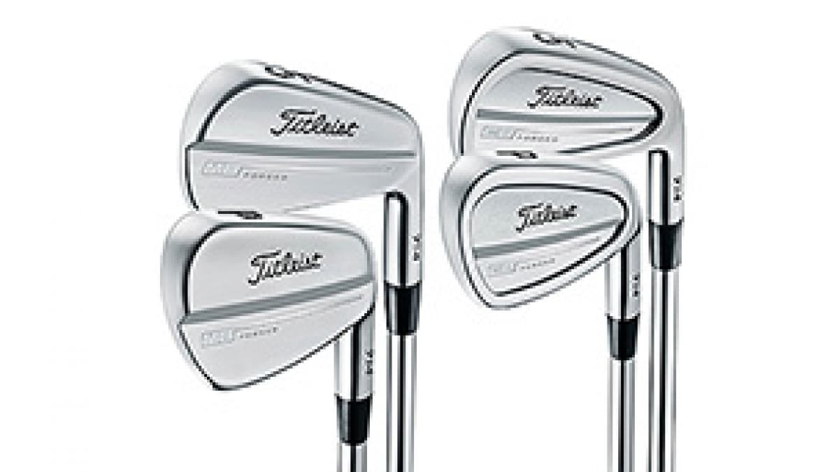 Titleist Tweaks Player Favorites CB and MB Irons | Golf Channel