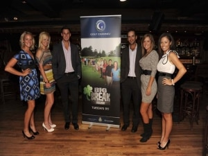 Big Break Ireland Premiere Party, Julien Trudeau, Bennett Maki, Nicole Smith, Kelly Jacques, Annie Brophy and Mallory Blackwelder