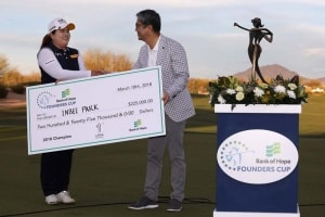 Bank of Hope Founders Cup: Inbee Park