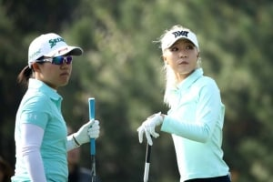 Lydia Ko and Nasa Hataoka