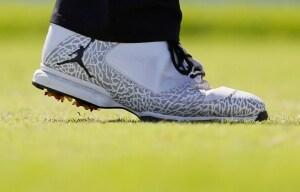 Keegan Bradley's shoes