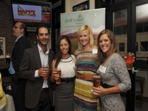 Big Break Ireland Premiere Party, Julien Trudeau, Kelly Jacques, Mallory Blackwelder, Nicole Smith