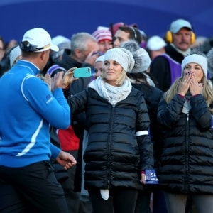 At the 2014 Ryder Cup