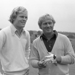 Johnny Miller and Jack Nicklaus