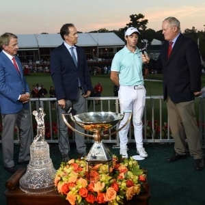 Rory McIlroy and Johnny Miller