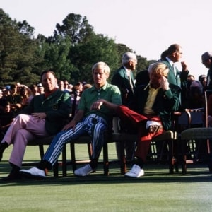 Billy Casper, Johnny Miller and Jack Nicklaus