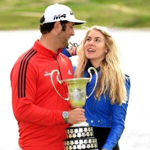 Jon Rahm and Kelley Cahill