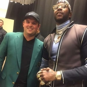 Patrick Reed and 2 Chainz