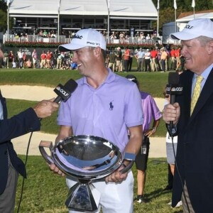 Justin Thomas, Dan Hicks and Johnny Miller
