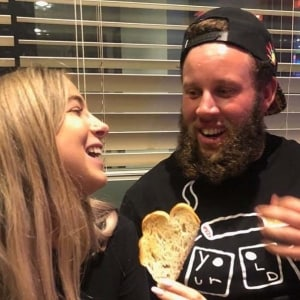 Andrew 'Beef' Johnston and Jodie Valencia