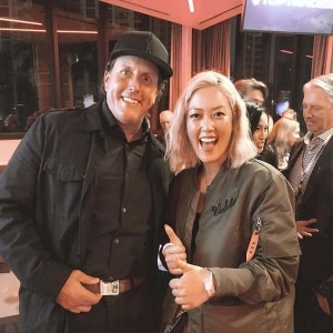 Michelle Wie and Phil Mickelson