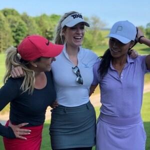 Chelsea Pezzola, Paige Spiranic and Tisha Alyn Abrea