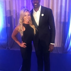 Chelsea Pezzola and Terrell Owens