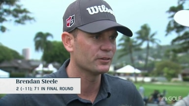 Steele (71): 'Didn't make the shot I needed on 18'
