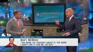 Isenhour: Rory's no a 'big, big blow' to Premier Golf League