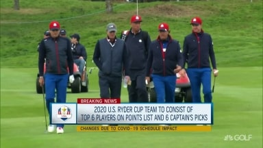 Breaking: Stricker gets six Ryder Cup captain's picks, instead of four