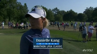 Ko double-bogeys 18; Kang wins back-to-back titles