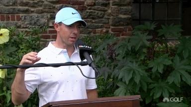 Rory (67): `` Un peu déçu ... j'avais l'impression que j'aurais pu descendre plus bas ''