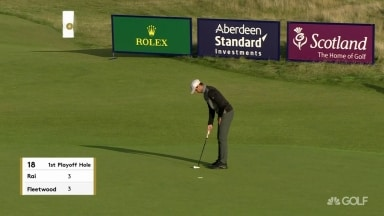 Rai makes, Fleetwood misses and Rai wins Scottish Open