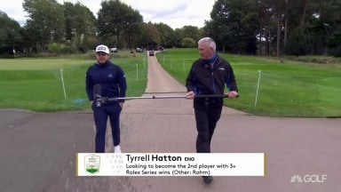 BMW PGA champ Hatton: 'More nervous' than at Ryder Cup
