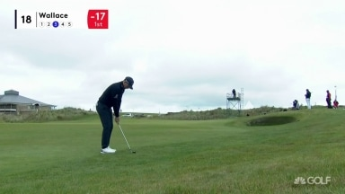 Highlights: Wallace (66) takes lead into Sunday at Scottish Championship