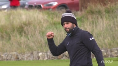 Highlights: Otaegui wins Scottish Championship with closing 63