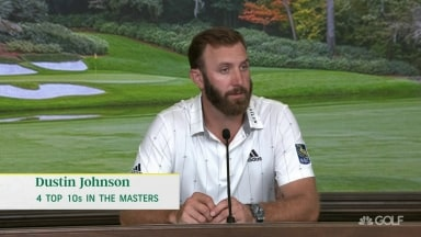 DJ: 'I'm very comfortable standing over the golf ball right now'