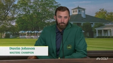 DJ on first Masters win: 'I think I look pretty good in green'