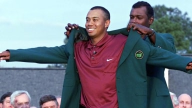 Masters Memorable Moments: 2001, Woods termine Tiger Slam