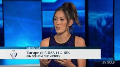 2019 Solheim Cup Michelle Wie Veteran Roles on Team USA