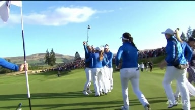 Highlights: Team Europe wins in Scotland