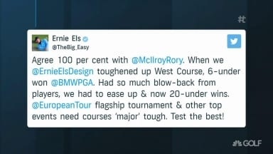 Els sides with McIlroy, but was Rory right about Euro Tour setups?
