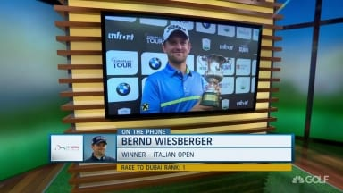 Fresh off a win: Wiesberger calls in to talk seventh Euro victory