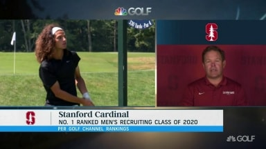 Stanford coach Ray on top-ranked recruit Vilips: 'He's a monster'