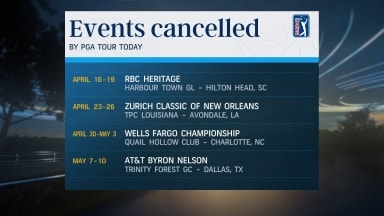 Tuesday roundup: PGA Championship postponed; PGA Tour cancels 4 more events