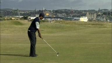 Aperçu du Tiger Slam: troisième ronde épique de Tiger à l'Open 2000