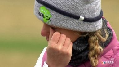 Olson emotional after birdie putt to close USWO