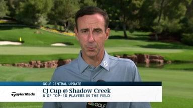 Golf Central Update: Top players headline CJ Cup @ Shadow Creek