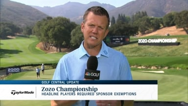 Golf Central Update: Even Tiger needed sponsor invite to defend at Zozo