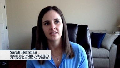 Golf Central Update: Symetra Tour player Sarah Hoffman working as frontline nurse