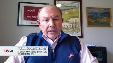 Bodenhamer de l'USGA: «Déchirant» pour nous d'avoir à annuler nos qualifications