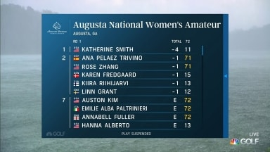 Highlights: Augusta National Women's Amateur, Round 1