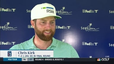 Chris Kirk happy to hit 'reset button' with Sony Open