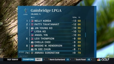 Highlights: Round 3, Gainbridge LPGA